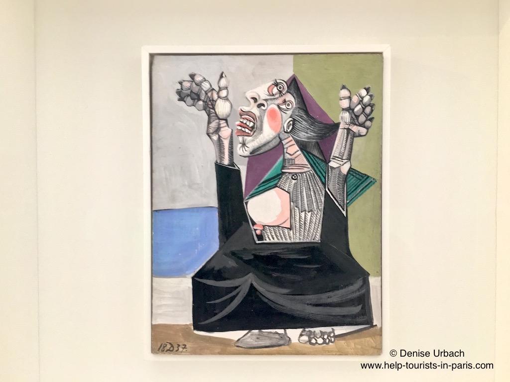 Bild von Picasso im Picasso Museum Paris