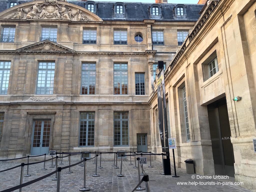 Eingang zum Picasso Museum Paris