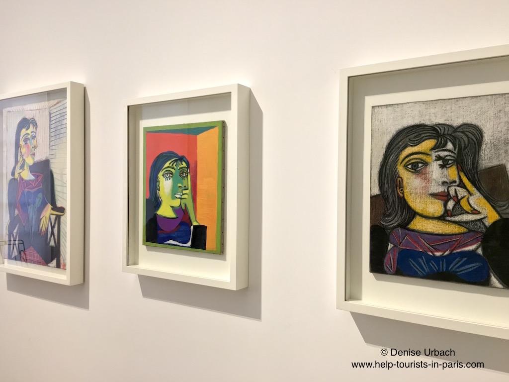 Picasso Gemälde im Picasso Museum Paris