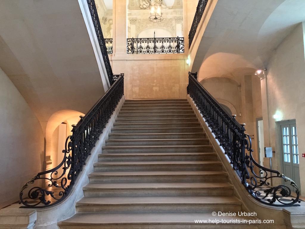 Treppe im Picasso Museum Paris