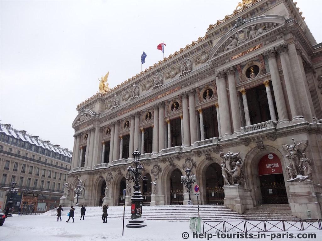 Schnee Opera Paris