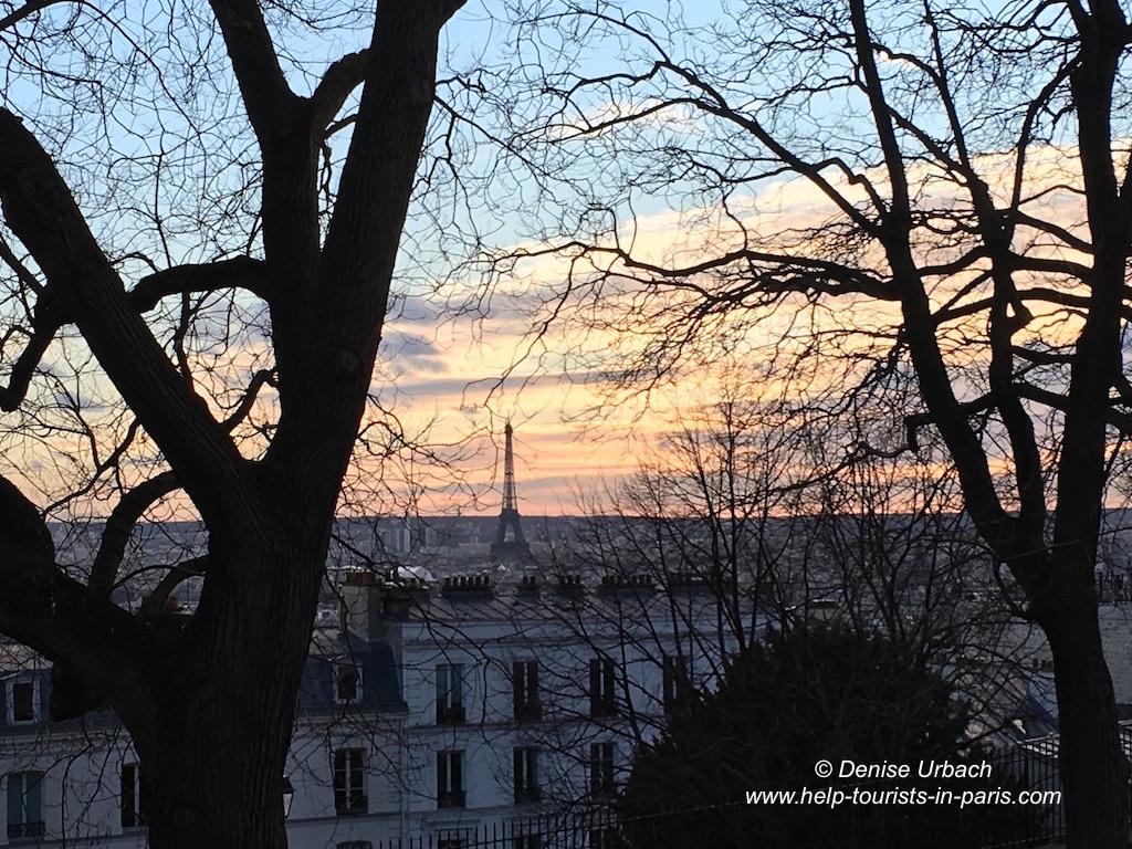 Abendrot am Eiffelturm