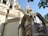Eingang Alexandre Nevsky Kirche Paris
