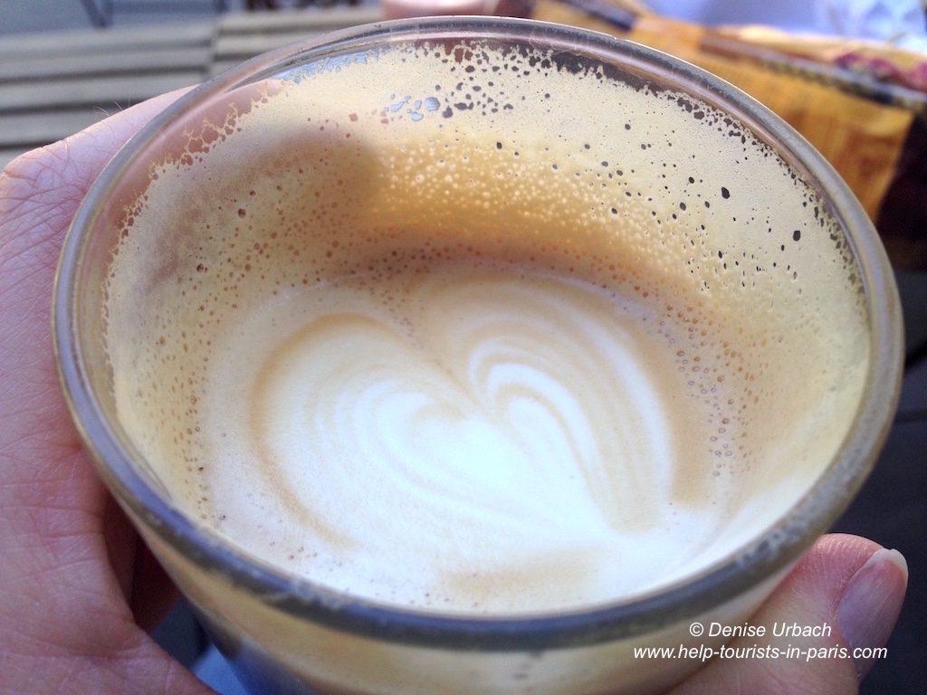 Kaffee trinken in Paris