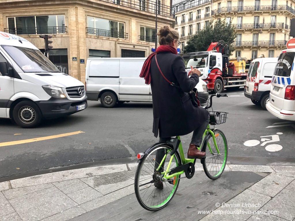Fahrrad ausleihen Paris