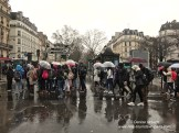 Regenwetter Paris