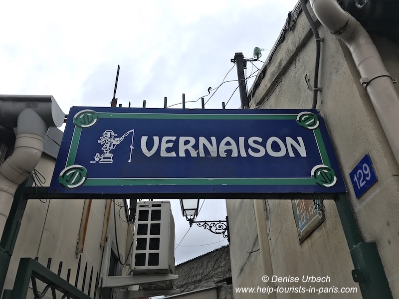 Eingang Vernaison Markt