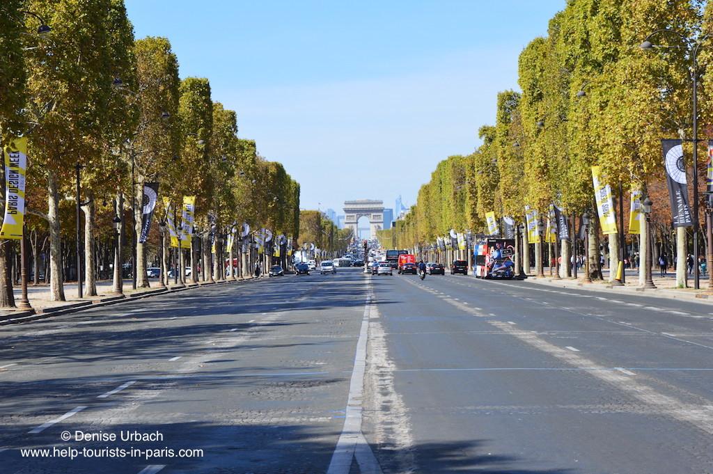 Champs Elysees Triumphbogen