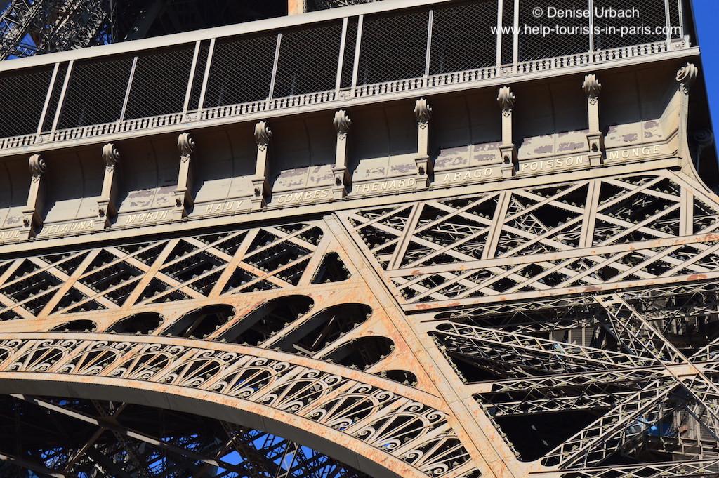 Eiffelturm Paris Namen