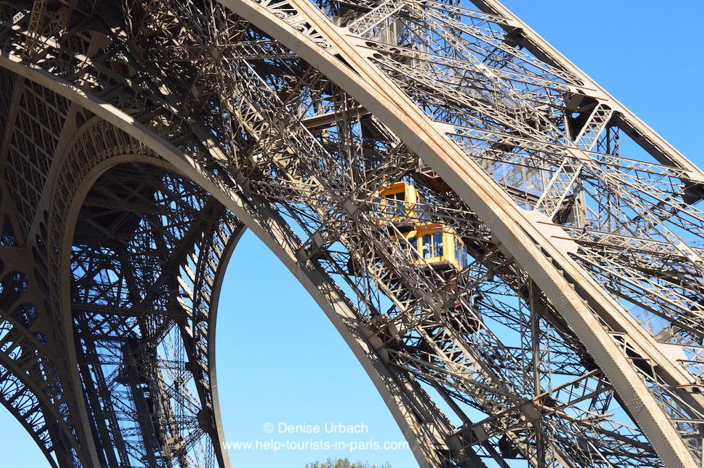 Paris Eiffelturm Aufzüge