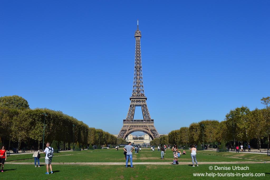 Paris Eiffelturm Sommer