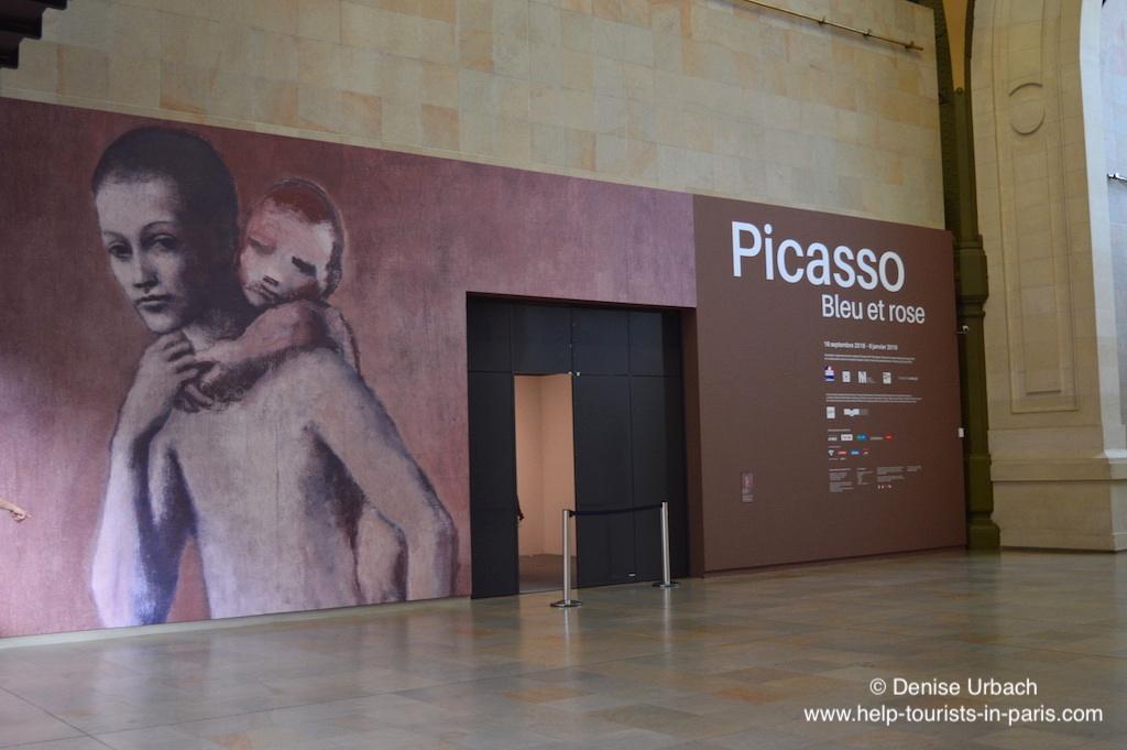 Picasso bleu et rose Ausstellung im Musée d'Orsay