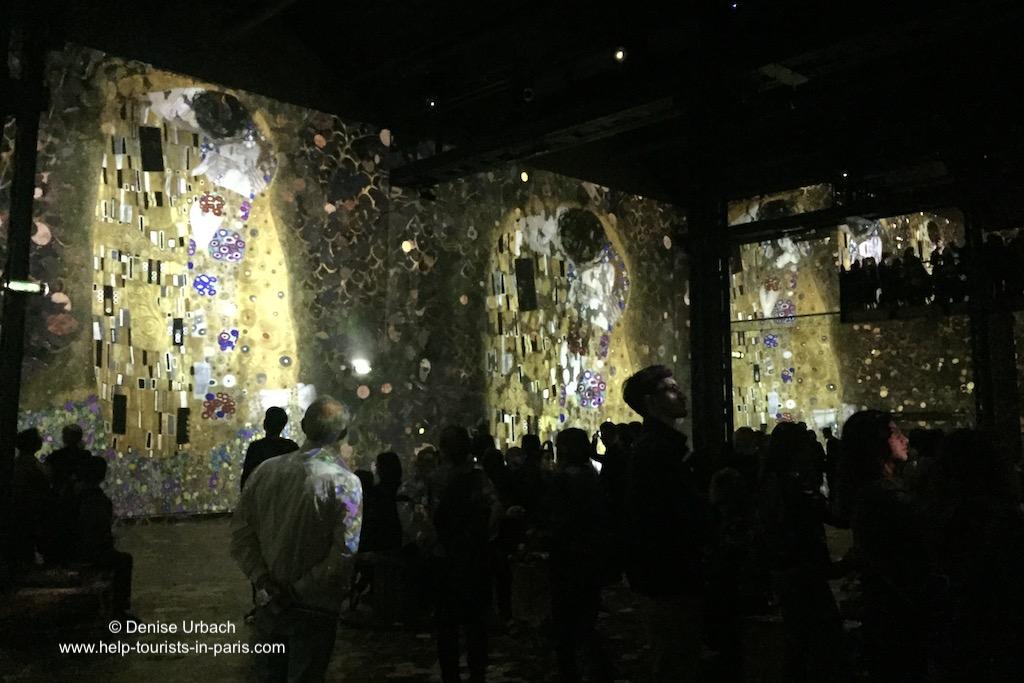 Klimt Atelier des Lumières