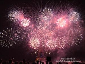 Feuerwerk Paris