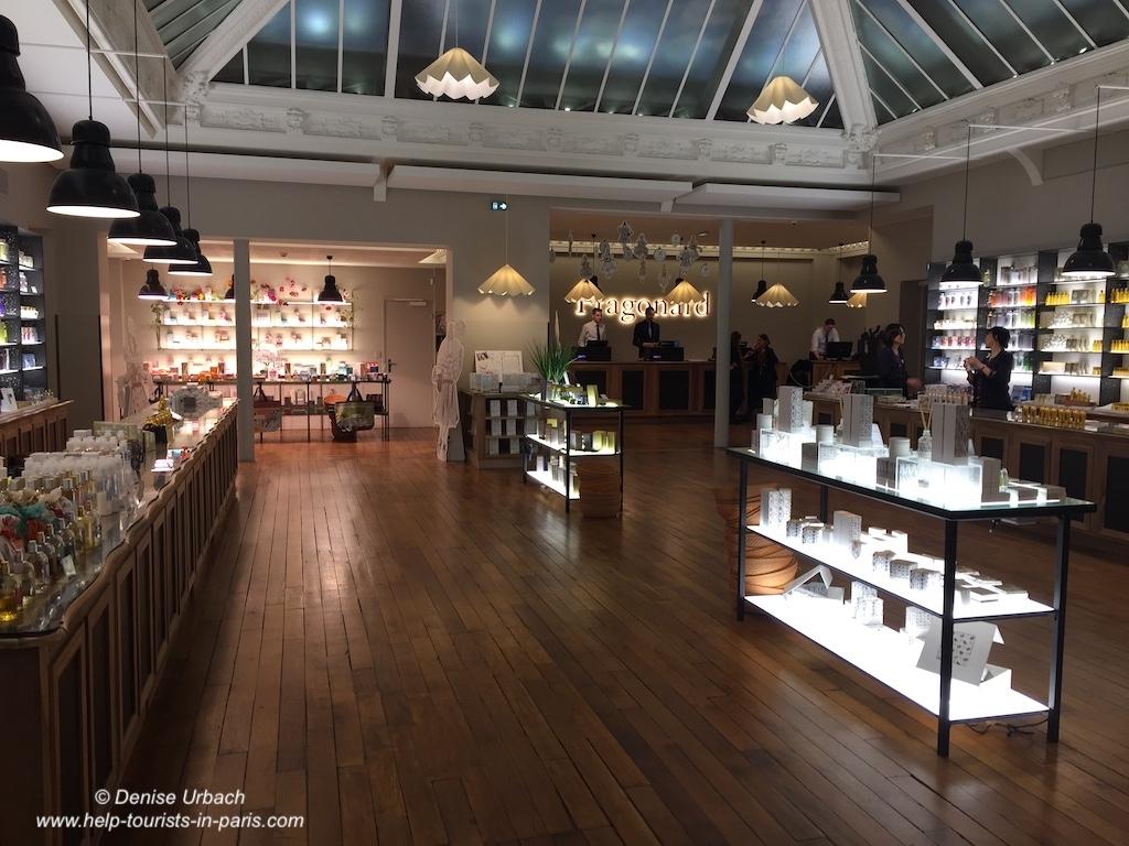 Fragonard Boutique und Museum Paris