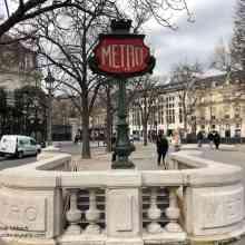 Metro Station Champs-Elysées