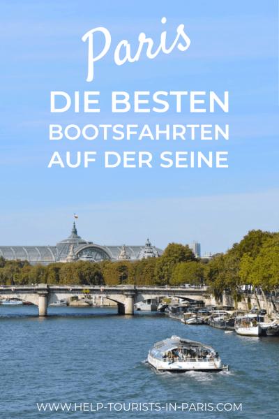 Die besten Bootsfahrten auf der Seine in Paris