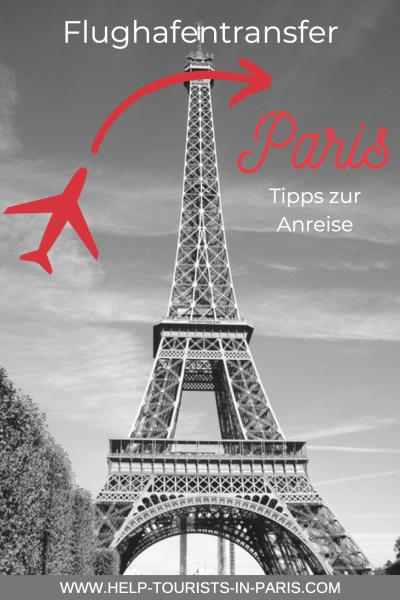 Flughafentransfer in die Pariser Innenstadt