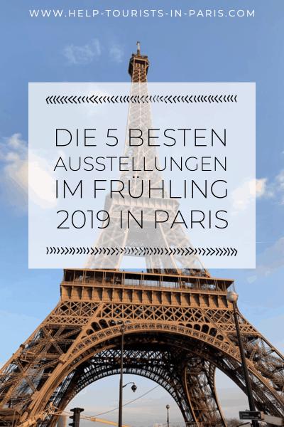 Kunstausstellungen Paris 2019
