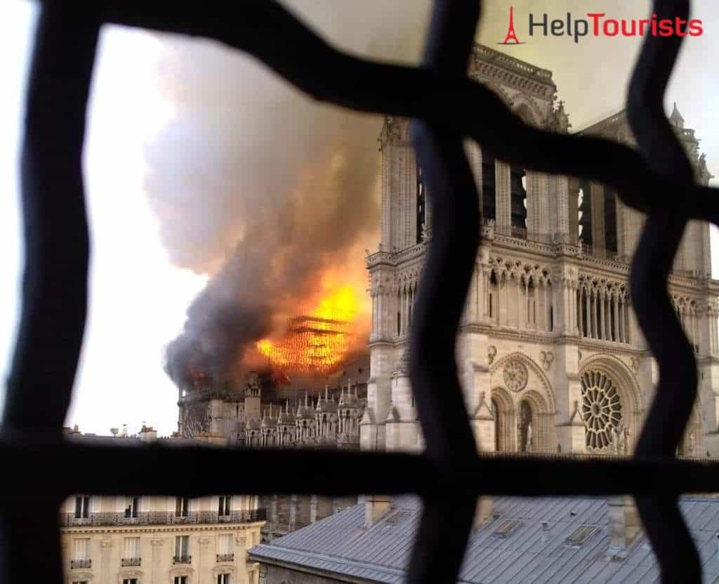 Notre Dame Feuer - Brand in der Notre-Dame April 2019