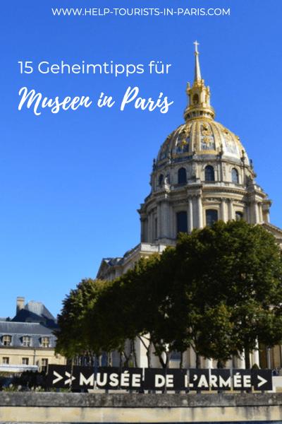 Paris Museen Geheimtipps