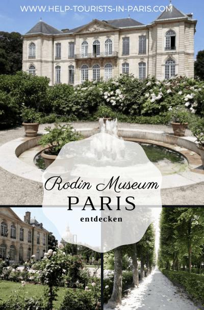 Rodin Museum Paris besuchen