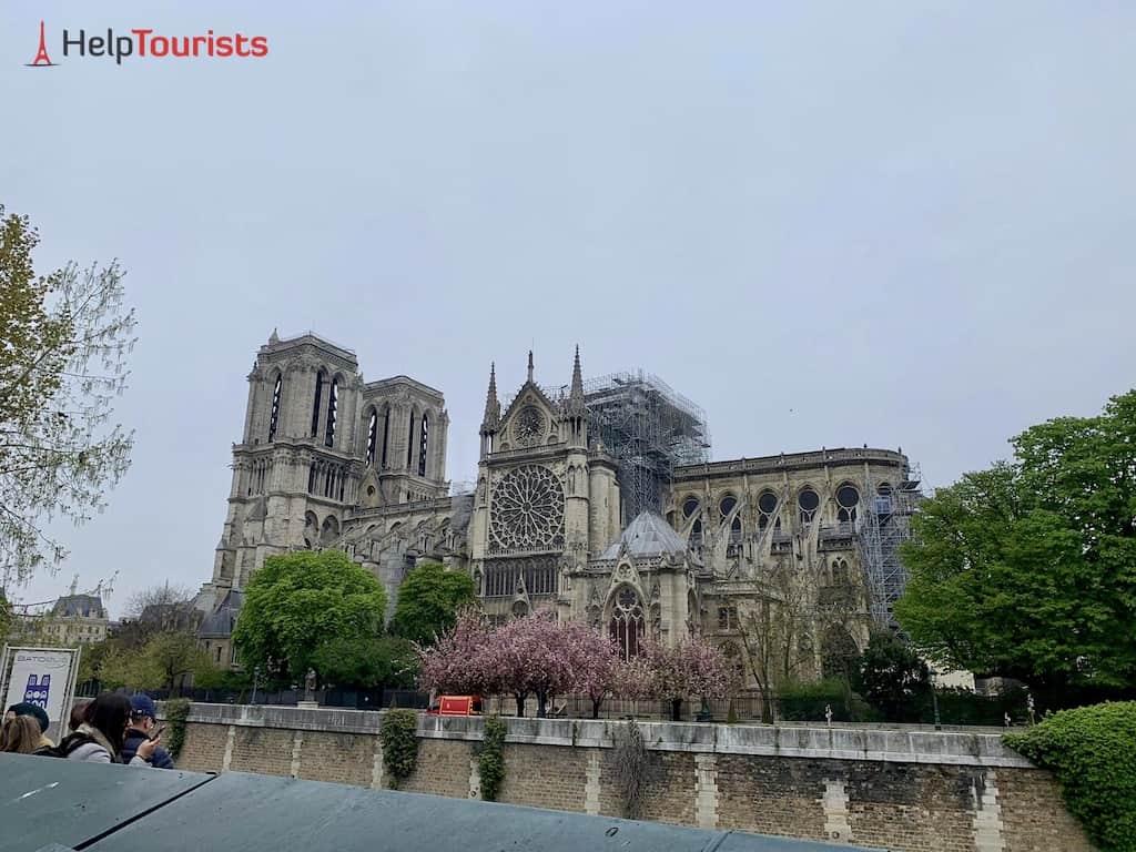 So sieht Notre Dame nach Brand aus