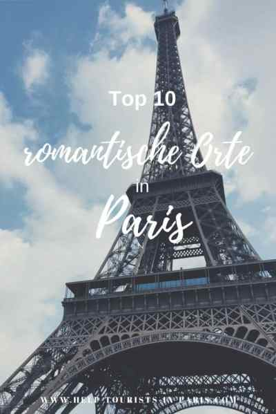 Top 10 romantische Orte in Paris