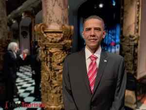Wachsfigurenkabinett Grévin in Paris Obama