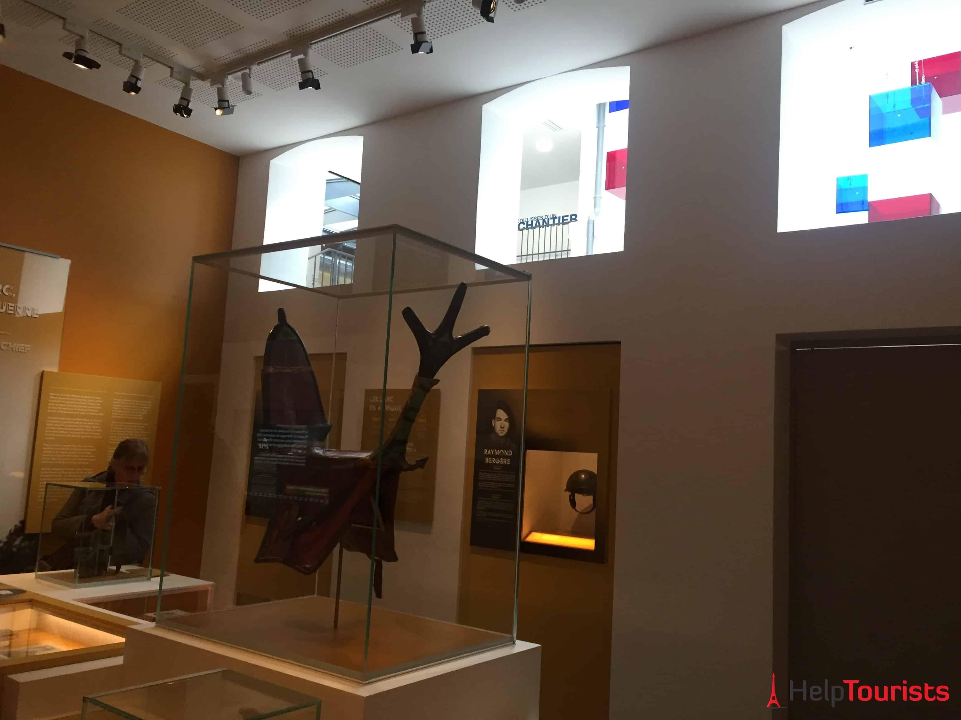 Paris Musée de la Libération Halle