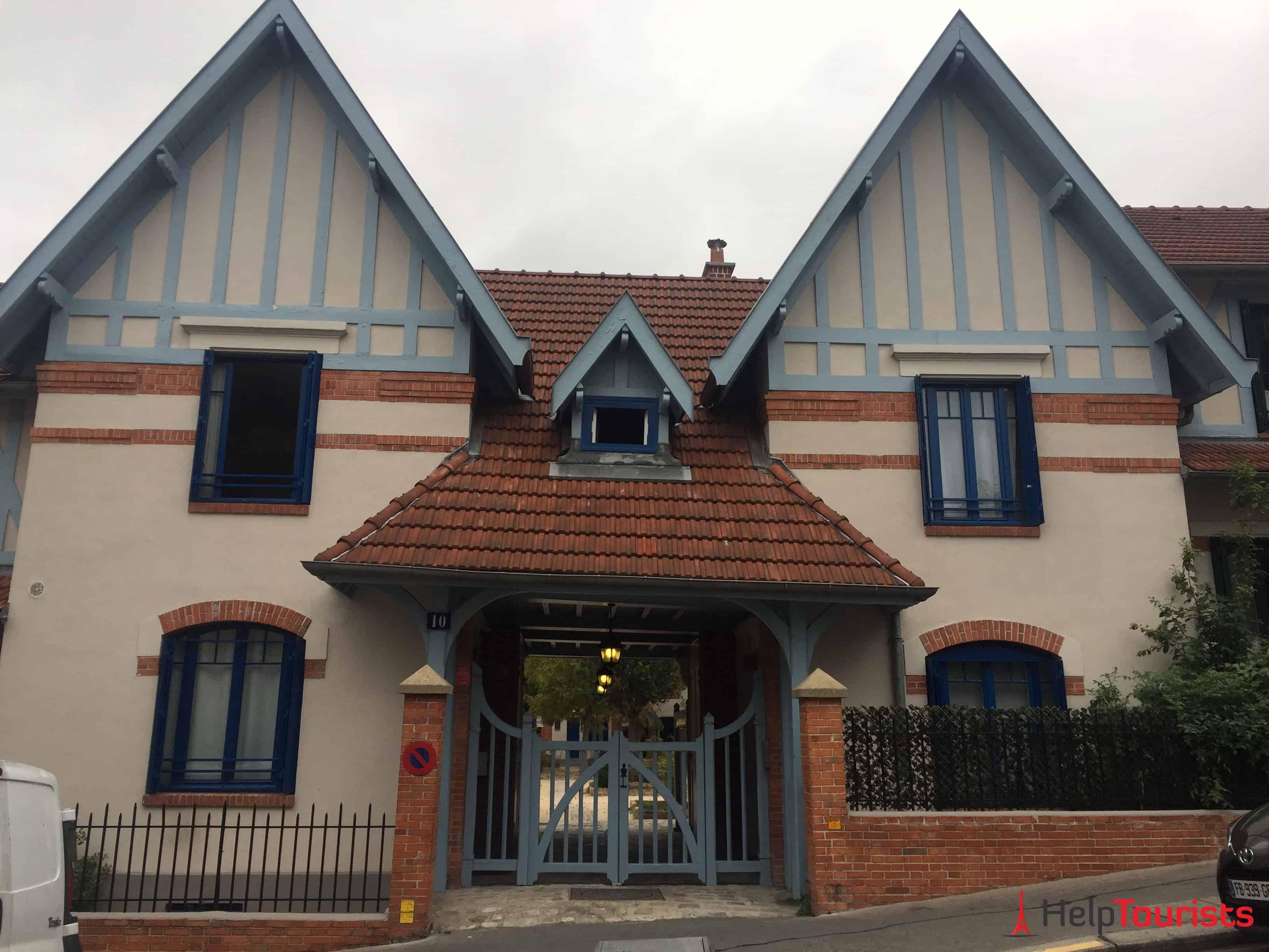 Paris Petit Alsace Eingang