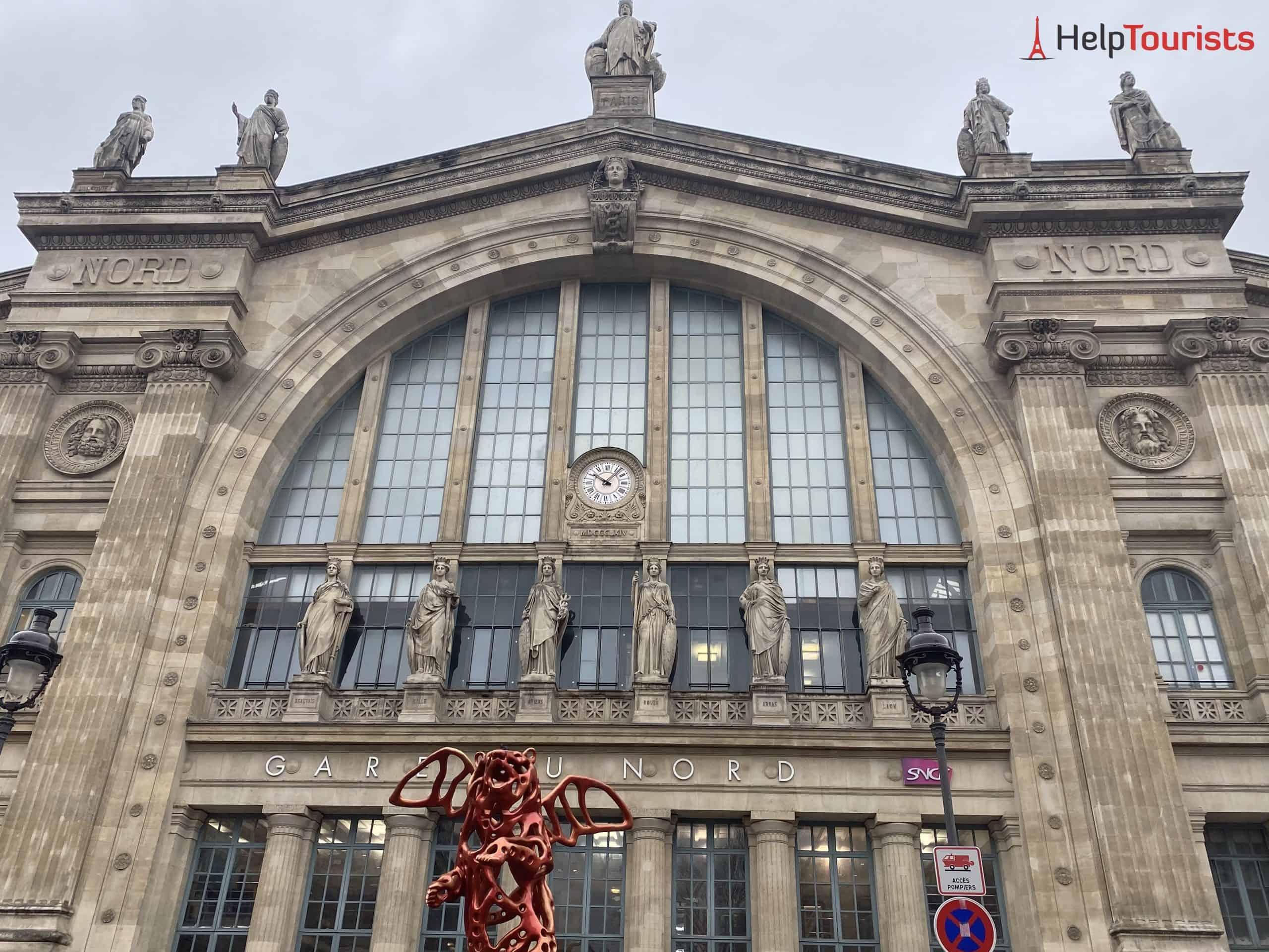Paris Gare du Nord Haupteingang