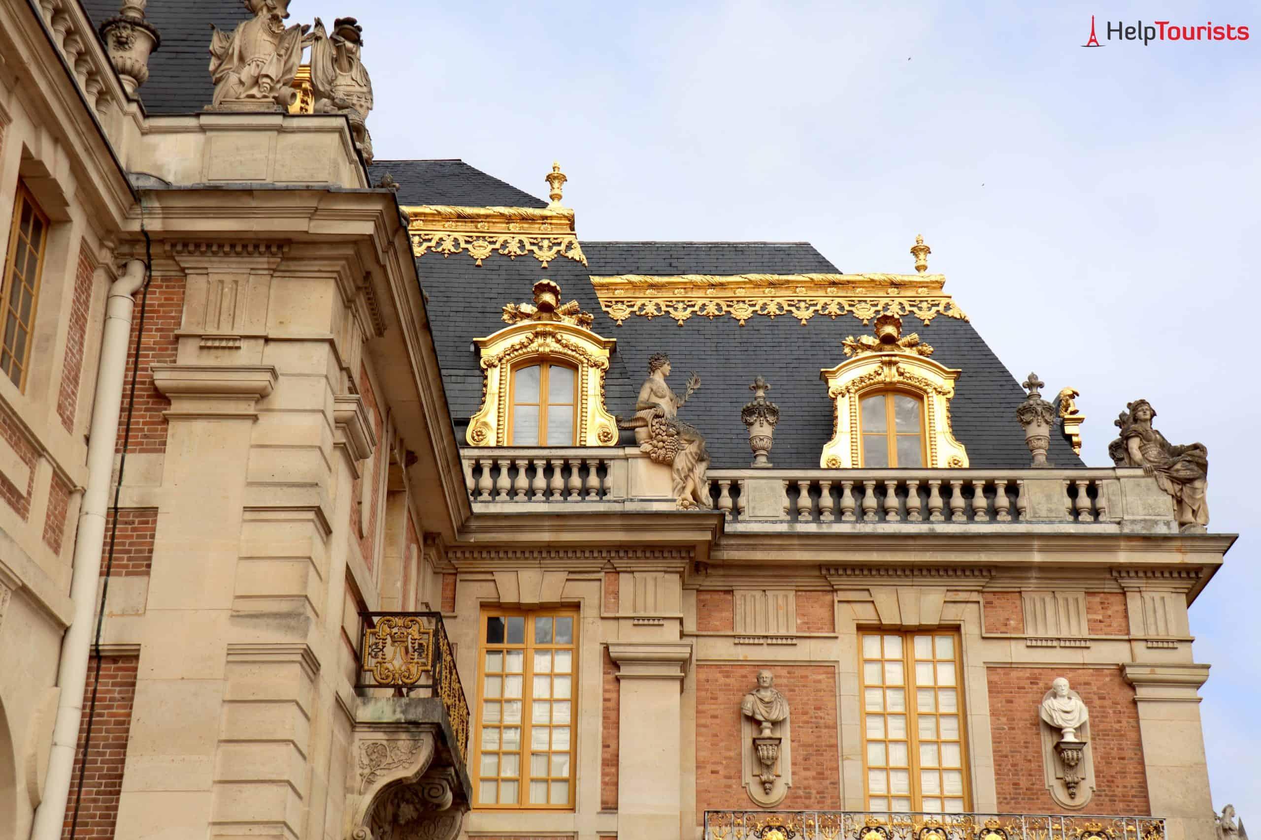 Paris Versailles Fassade außen nah