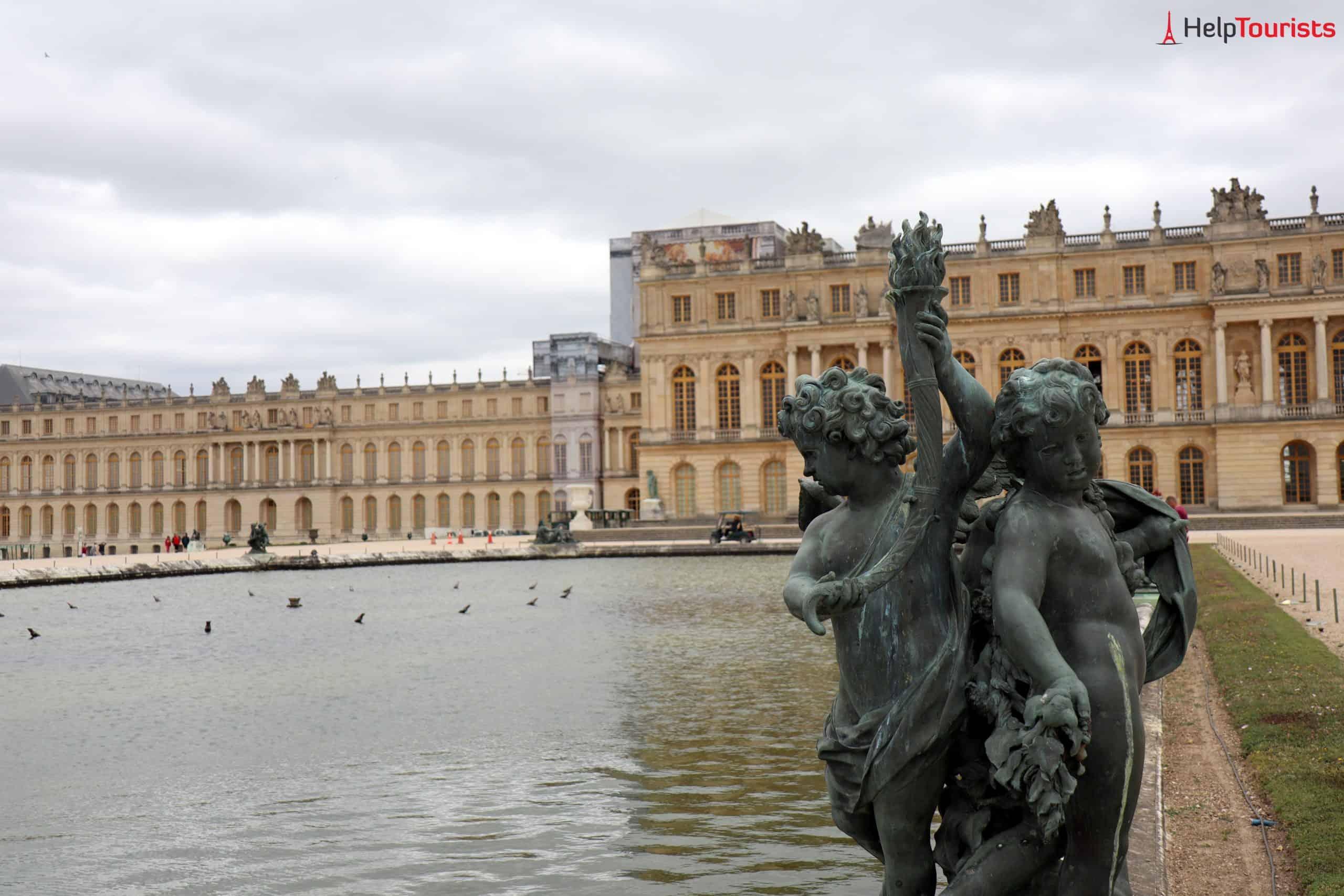 Paris Versailles Garten Brunnen Schloss 6