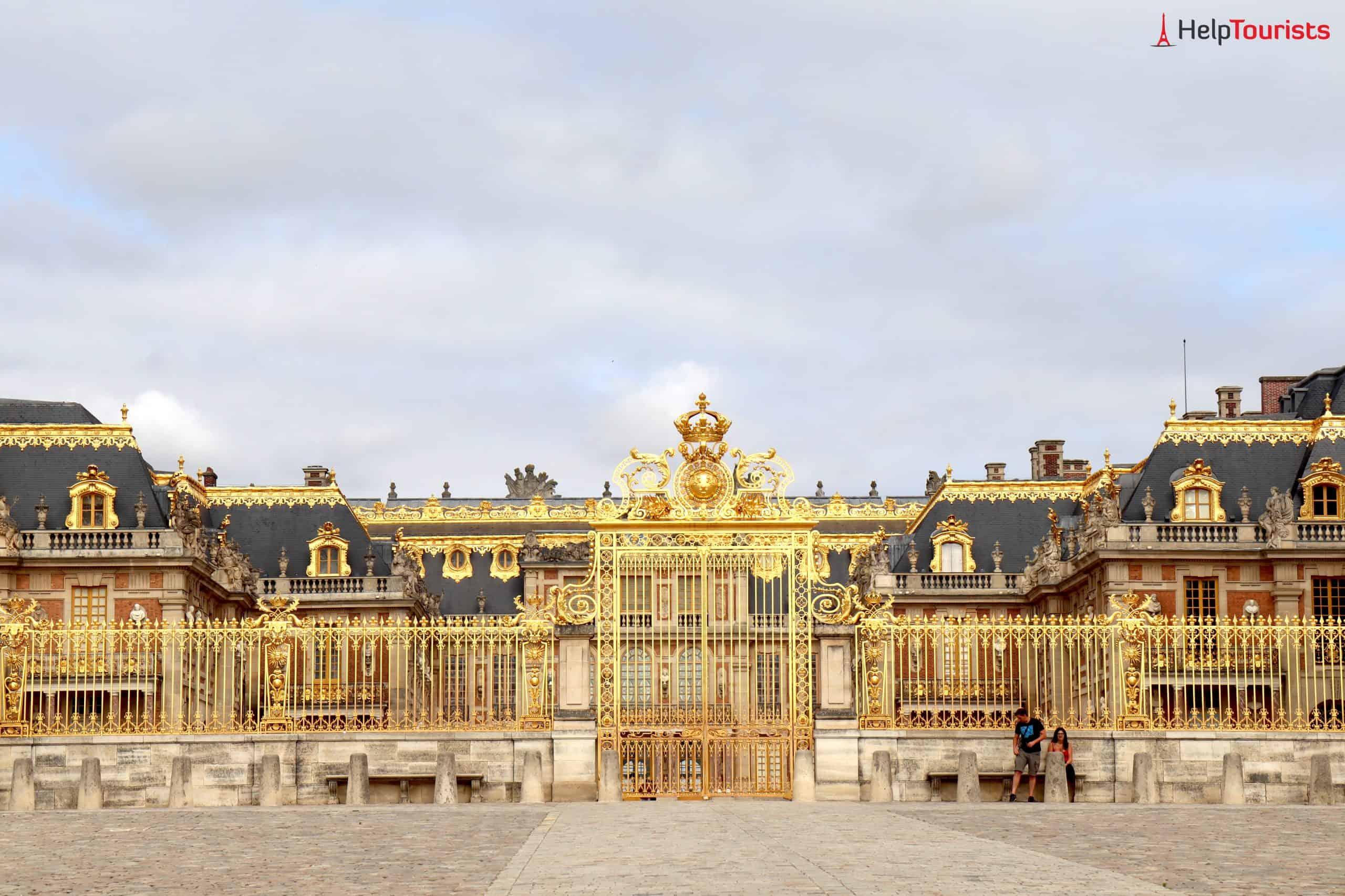 Paris Versailles von nah ganz