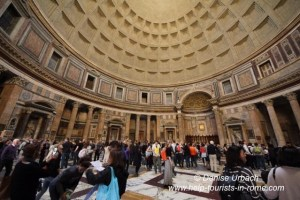 Pantheon Rome inside