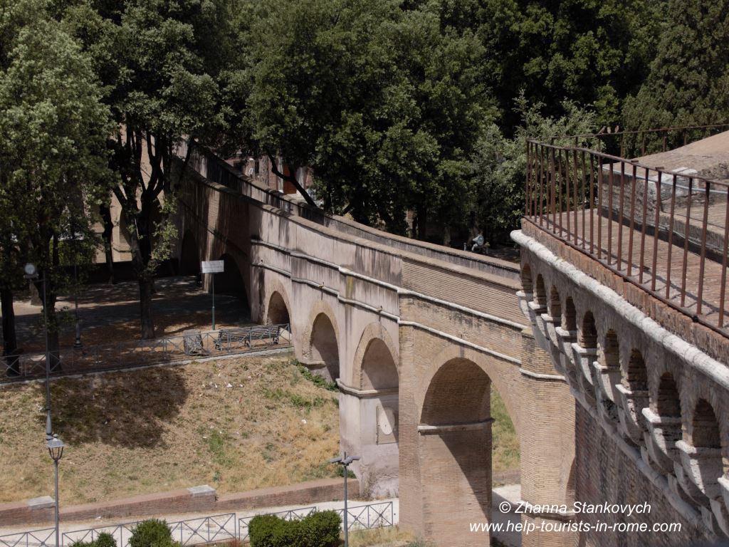 Engelsburg Passetto Rome