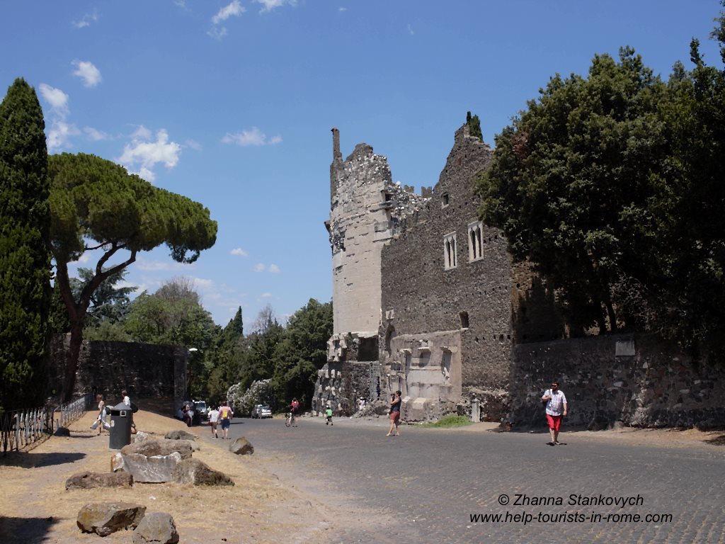 Appia Antica Cecilia Metella