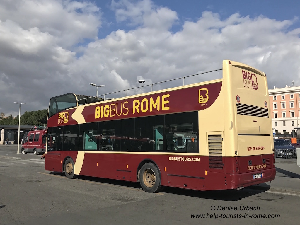 Big Bus in Rom