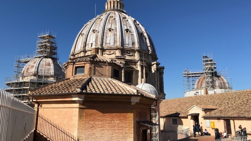 Dome of St. Peter's Basilica: Entrance fee, hours, steps and admission