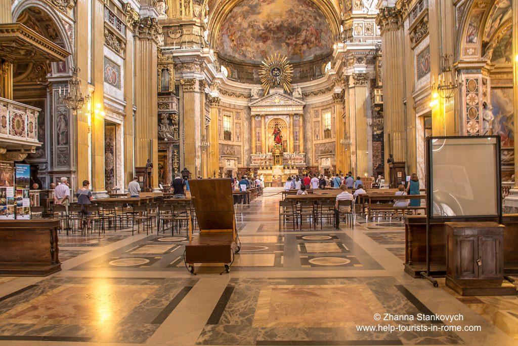 Chiesa del Gesu Rom innen