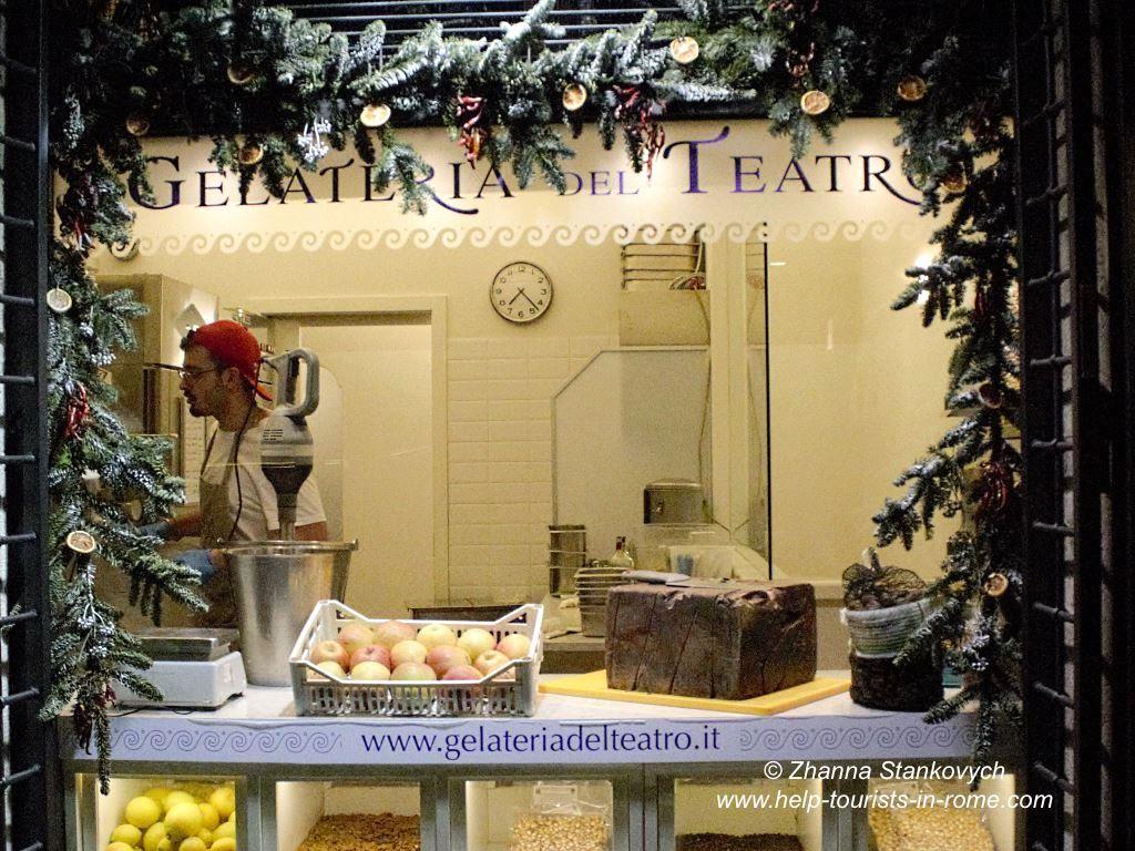 Gelateria-del-Teatro-Rome
