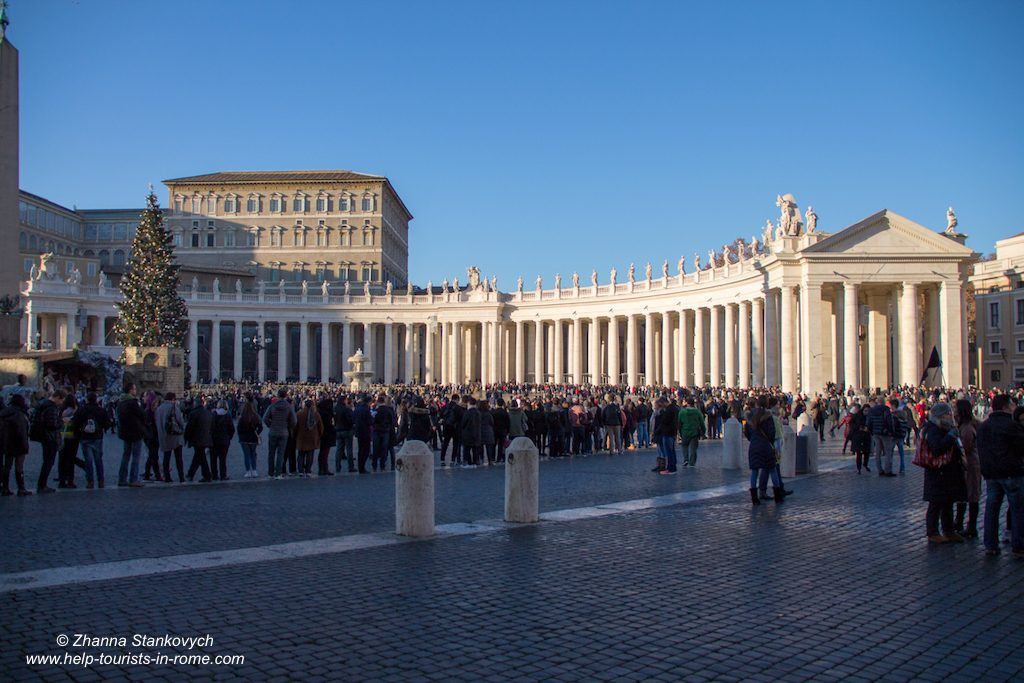 St Peter's Rome Christmas