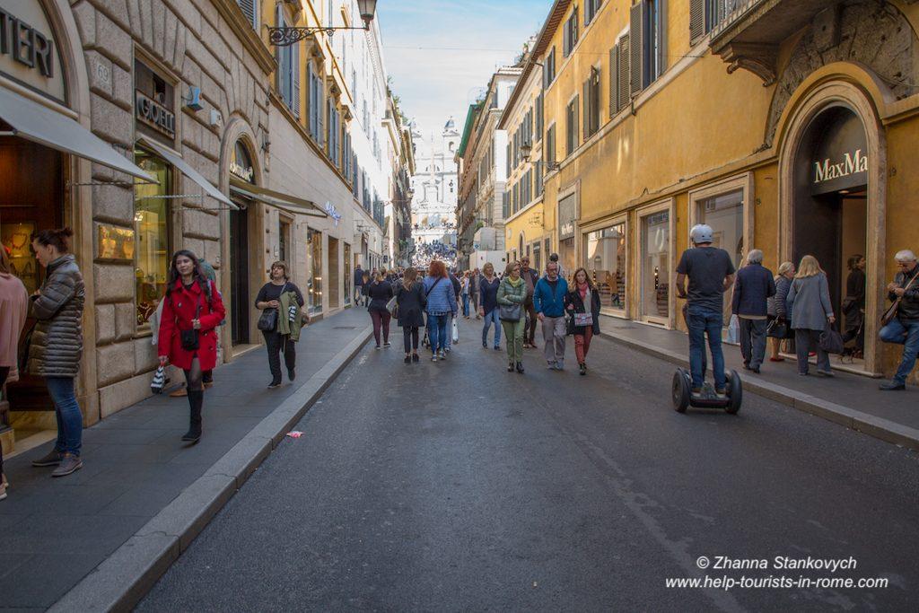 Via dei Condotti Rom