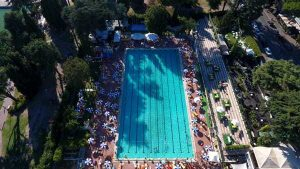outdoor pool Rome