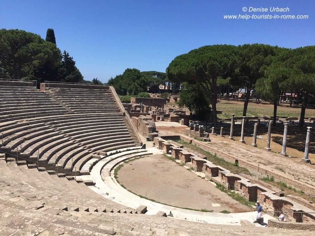 Amphie theatre-Ostia-Antica-Rome
