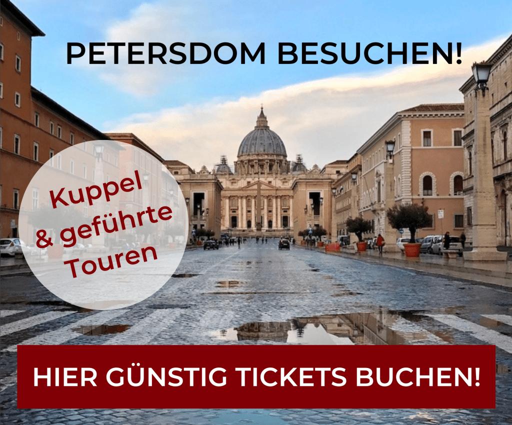 Petersdom Tickets buchen