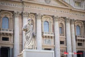 ROM_Petersdom_Statue_l