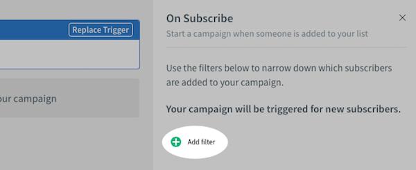 Add campaign filter