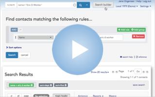 Video-Build an Advanced Search